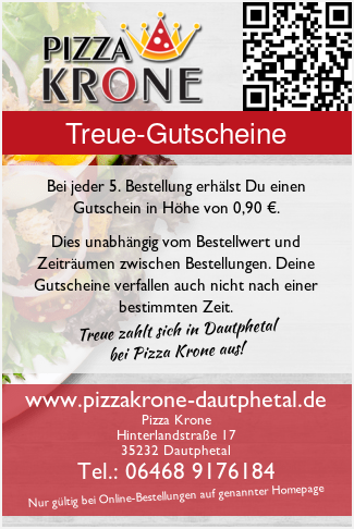 Pizza Krone Holzhausen